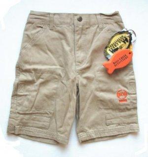 BASS CREEK Boys Tan Denim Shorts 4 4T NEW