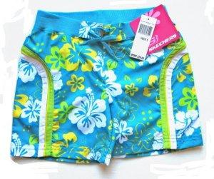 SKECHERS Girls Tropical Board Shorts 5 NEW $26