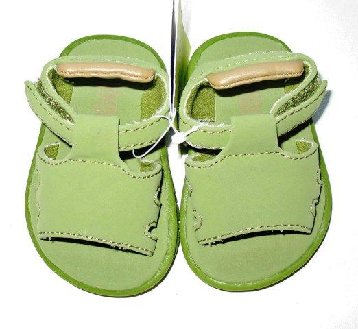 GYMBOREE Island Excursion Boys Green Sandals 05 12 18 Mo NEW $24