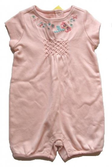 GYMBOREE Made With Love Girls Shorts Romper 3-6 Mo NEW $26