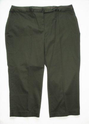 WORTHINGTON Womens Plus Olive Crop Pants Marilyn 22 W NEW $40