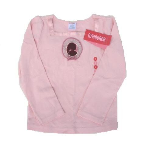 GYMBOREE La Belle Epoque Girls Pink Cameo Shirt Top 5 NEW