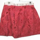 OLD NAVY Girls Red Satin Holiday Skirt 3T NEW