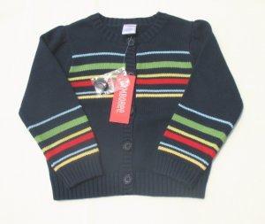 GYMBOREE Wish You Were Here Girls Navy Sweater Cardigan 5 NEW