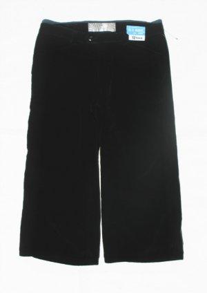 OLD NAVY Girls Black Velvet Crop Pants Capris 12 R NWOT NEW