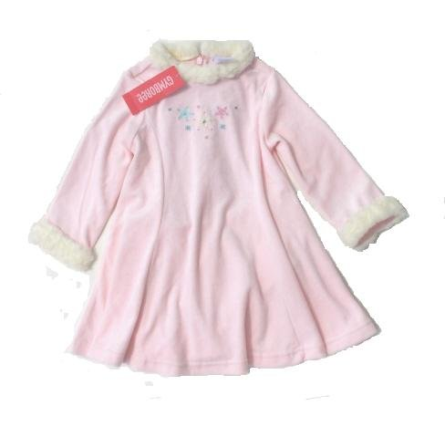 GYMBOREE Princess Snow Drop Girls Pink Velour Skating Dress 2T NWT NEW