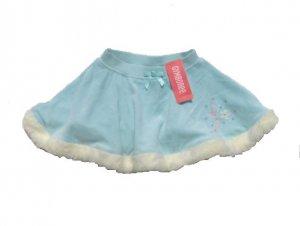 GYMBOREE Princess Snow Drop Girls Aqua Velour Skating Skirt 2T NWT NEW