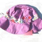 GYMBOREE Tea Garden Girls Reversible Purple Hat 2T 3T 4T 5T NWT NEW