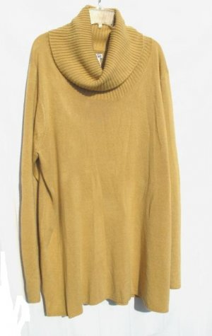 EAST 5TH Womens Plus Tan Turtle Neck Sweater 2X XXL 20 22 NWT NEW