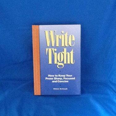 Write Tight