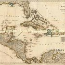 West Indies Caribbean map 1776