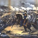 Battle of Fort Donelson Tennessee 1862 Civil War art print by Kurz and Allison