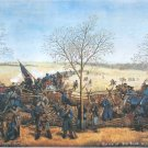 Big Blue Battle Kansas 1864 Civil War canvas art print Samuel Reader