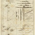 Maderas and Canary Islands map 1787 by Thomas Jefferys