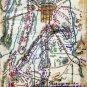 Gettysburg Battle Pennsylvania 1863 Civil War map by Sneden
