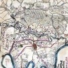 Battle of Antietam, Maryland 1862 Civil War map by Sneden