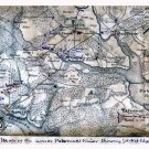 Lower Potomac River Picket Lines 1862 Civil War map by Sneden