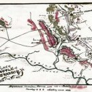 Battle of Cold Harbor or Second Cold Harbor Virginia Civil War map by Sneden