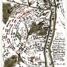 Battle of Pittsburg Landing or Shiloh April 6-7 1862 Civil War map by Sneden