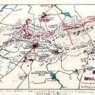 Battle Plan of Cold Harbor Virginia 1864 Civil War map by Sneden