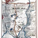 Devaux Neck on Broad River South Carolina Civil War map by Sneden