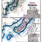 Fort Fisher and vicinity Plan Second Attack North Carolina January 15 1865 Civil War map by Sneden