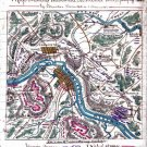 Mud March Hooker Franklin Sumner Virginia 1863 Civil War map by Sneden