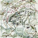 Plan of Gaines' Mill Battle Virginia 1862 Civil War map by Sneden