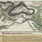Skirmish at Auburn Virginia 1863 Civil War map by Sneden