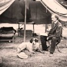 Lt George A Custer Dog Peninsular Campaign 1862 Civil War Photo Canvas Art Print