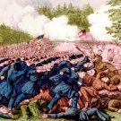 Battle of Seven Pines or Fair Oaks Station Virginia 1862 Civil War art print II