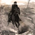 General Phil Sheridan's Ride to the Front 1864 Civil War art print