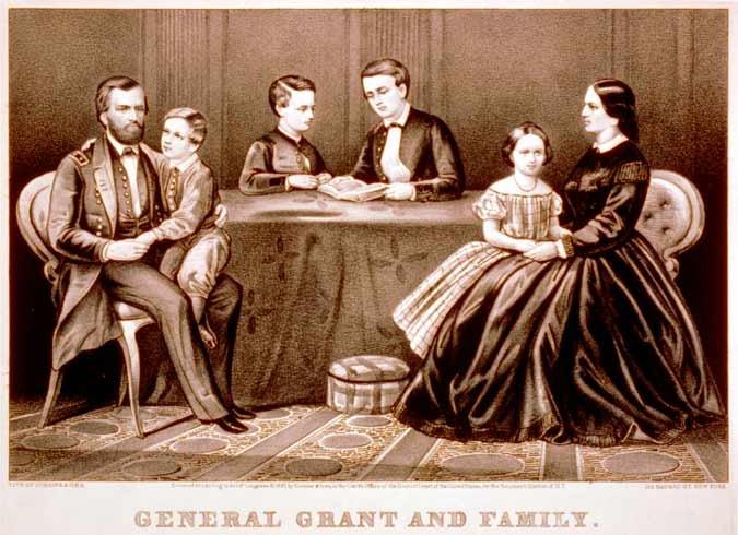 Ulysses S Grant Family...