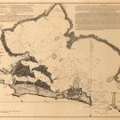 San Juan Harbor Porto Puerto Rico map 1794 by Cosme Damian de Churruca y Elorza