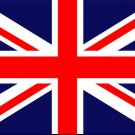 Great Britain United Kingdom UK Flag art print