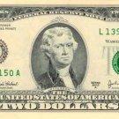 US Two Dollar $2 bank note banknote photo photograph art print
