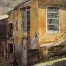 Street Corner Santiago de Cuba 1885 Cuban Caribbean canvas art print by Winslow Homer