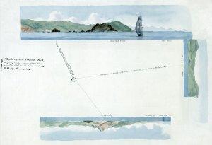 British Virgin Islands BVI Dead Chest, Peter's Island, Virgin Gorda, Old Jerusalem, Cooper 1824 map