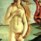 Birth of Venus Detail woman canvas art print by Sandro Botticelli
