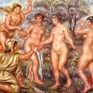 Judgment of Paris Urteil des Paris woman women canvas art print by Pierre-Auguste Renoir