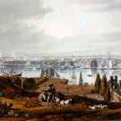 Baltimore from Federal Hill canvas art print by W.J. Bennett