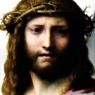 Head of Christ Christian Biblical canvas art print Correggio 19.5 x 24