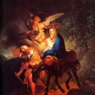 Escape Flight to Egypt Christian Jesus canvas art print by Dietrich