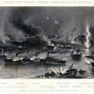 Capture of New Orleans naval battle1862 Civil War canvas art print