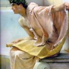 A Reading from Homer 1885 man Victorian canvas art print by Lawrence Alma Tadema