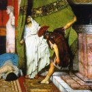 A Roman Emperor AD41 Detail I 1871 Victorian canvas art print by Lawrence Alma Tadema