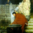 Boating 1868 Victorian canvas art print by Lawrence Alma Tadema