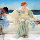Ask me no More 1906 Victorian women canvas art print by Lawrence Alma Tadema
