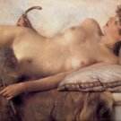 In the Tepidarium detail 1881 woman Victorian canvas art print by Lawrence Alma Tadema