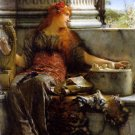 Poetry 1879 Victorian canvas art print by Lawrence Alma Tadema